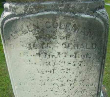 COLEMAN FITZGERALD, ELLEN - Berkshire County, Massachusetts | ELLEN COLEMAN FITZGERALD - Massachusetts Gravestone Photos