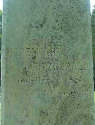 FITZGERALD, JEREMIAH - Berkshire County, Massachusetts   JEREMIAH FITZGERALD - Massachusetts Gravestone Photos