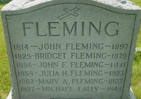 FLEMING, JULIA H - Berkshire County, Massachusetts | JULIA H FLEMING - Massachusetts Gravestone Photos