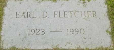 FLETCHER, EARL D - Berkshire County, Massachusetts | EARL D FLETCHER - Massachusetts Gravestone Photos