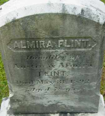 FLINT, ALMIRA - Berkshire County, Massachusetts | ALMIRA FLINT - Massachusetts Gravestone Photos