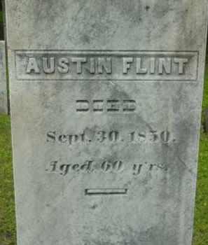 FLINT, AUSTIN - Berkshire County, Massachusetts | AUSTIN FLINT - Massachusetts Gravestone Photos
