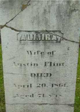 FLINT, ALMIRA - Berkshire County, Massachusetts   ALMIRA FLINT - Massachusetts Gravestone Photos