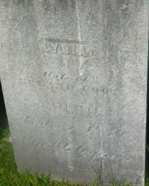 FOOT, LYDIA - Berkshire County, Massachusetts | LYDIA FOOT - Massachusetts Gravestone Photos