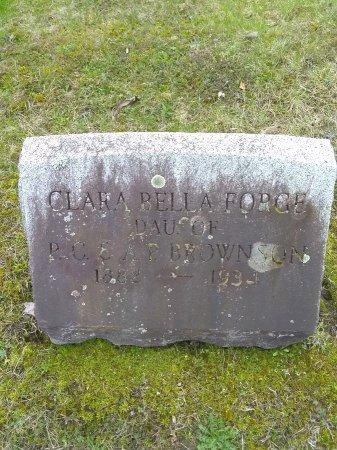 BROWNSON, CLARA BELLA - Berkshire County, Massachusetts   CLARA BELLA BROWNSON - Massachusetts Gravestone Photos