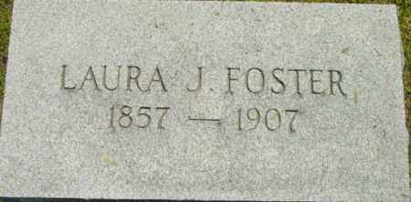 FOSTER, LAURA J - Berkshire County, Massachusetts | LAURA J FOSTER - Massachusetts Gravestone Photos