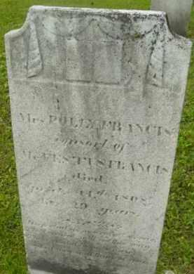 FRANCIS, POLLY - Berkshire County, Massachusetts | POLLY FRANCIS - Massachusetts Gravestone Photos