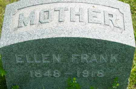FRANK, ELLEN - Berkshire County, Massachusetts   ELLEN FRANK - Massachusetts Gravestone Photos