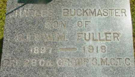 FULLER, CHARLES BUCKMASTER - Berkshire County, Massachusetts | CHARLES BUCKMASTER FULLER - Massachusetts Gravestone Photos