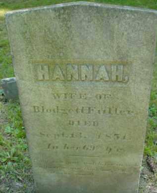 FULLER, HANNAH - Berkshire County, Massachusetts | HANNAH FULLER - Massachusetts Gravestone Photos