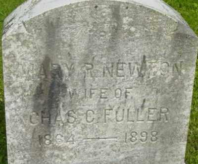 FULLER, MARY R - Berkshire County, Massachusetts | MARY R FULLER - Massachusetts Gravestone Photos