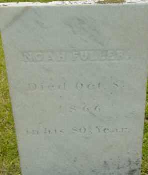 FULLER, NOAH - Berkshire County, Massachusetts | NOAH FULLER - Massachusetts Gravestone Photos