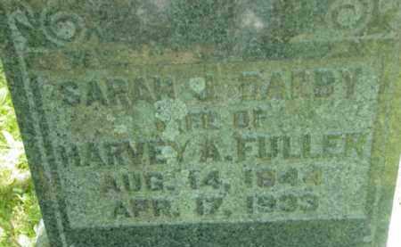 FULLER, SARAH J - Berkshire County, Massachusetts | SARAH J FULLER - Massachusetts Gravestone Photos