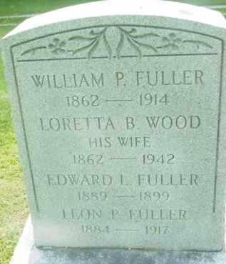 FULLER, LORETTA B - Berkshire County, Massachusetts | LORETTA B FULLER - Massachusetts Gravestone Photos