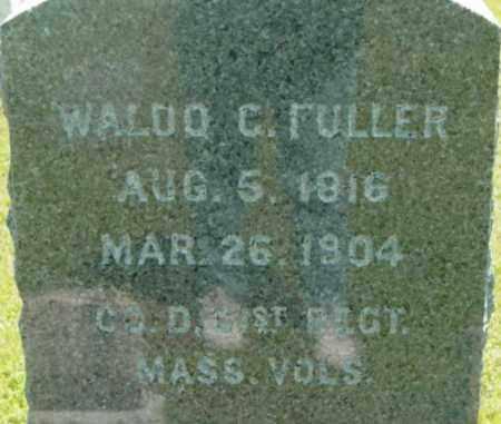 FULLER, WALDO C - Berkshire County, Massachusetts   WALDO C FULLER - Massachusetts Gravestone Photos