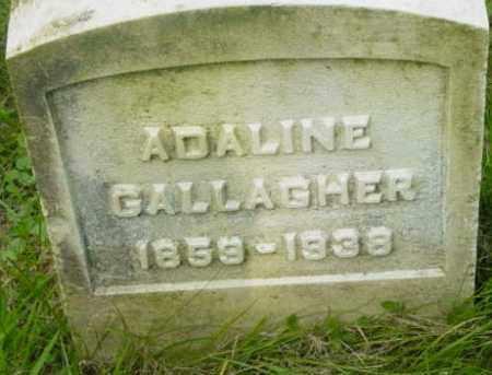 GALLAGHER, ADALINE - Berkshire County, Massachusetts | ADALINE GALLAGHER - Massachusetts Gravestone Photos