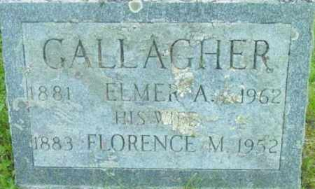 GALLAGHER, FLORENCE M - Berkshire County, Massachusetts | FLORENCE M GALLAGHER - Massachusetts Gravestone Photos