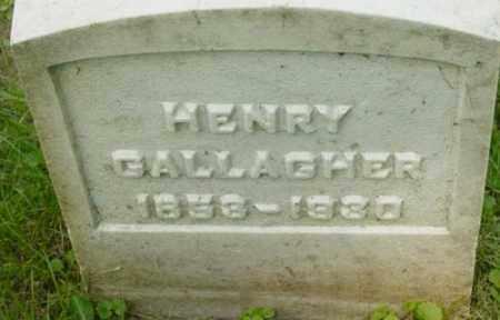 GALLAGHER, HENRY - Berkshire County, Massachusetts | HENRY GALLAGHER - Massachusetts Gravestone Photos