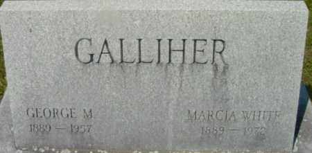 WHITE GALLIHER, MARCIA - Berkshire County, Massachusetts | MARCIA WHITE GALLIHER - Massachusetts Gravestone Photos