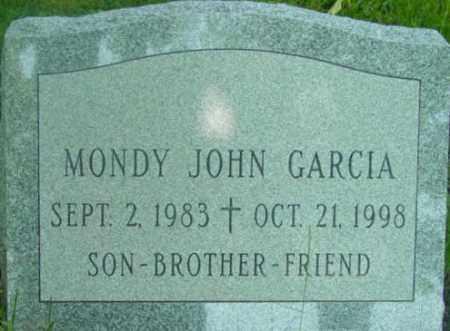 GARCIA, MONDY JOHN - Berkshire County, Massachusetts   MONDY JOHN GARCIA - Massachusetts Gravestone Photos