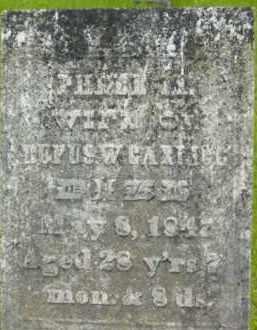 GARLICK, PHEBE M - Berkshire County, Massachusetts   PHEBE M GARLICK - Massachusetts Gravestone Photos