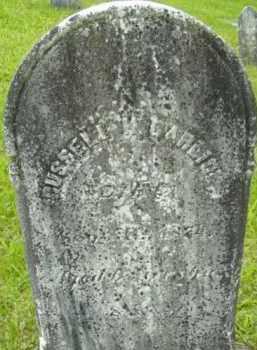GARLICK, RUSSELL - Berkshire County, Massachusetts | RUSSELL GARLICK - Massachusetts Gravestone Photos