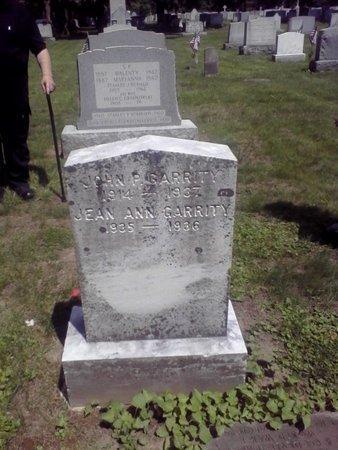 GARRITY, JOHN P - Berkshire County, Massachusetts   JOHN P GARRITY - Massachusetts Gravestone Photos