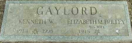 FRILLEY GAYLORD, ELIZABETH M - Berkshire County, Massachusetts | ELIZABETH M FRILLEY GAYLORD - Massachusetts Gravestone Photos