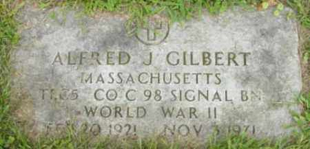 GILBERT, ALFRED J - Berkshire County, Massachusetts | ALFRED J GILBERT - Massachusetts Gravestone Photos