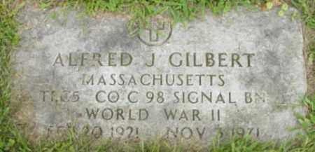 GILBERT (WWII), ALFRED J - Berkshire County, Massachusetts | ALFRED J GILBERT (WWII) - Massachusetts Gravestone Photos