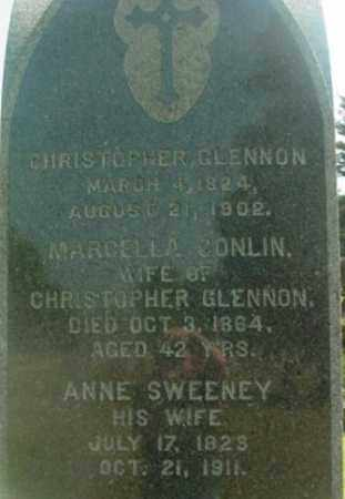 SWEENEY GLENNON, ANNE - Berkshire County, Massachusetts | ANNE SWEENEY GLENNON - Massachusetts Gravestone Photos