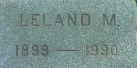 GOODRICH, LELAND M - Berkshire County, Massachusetts | LELAND M GOODRICH - Massachusetts Gravestone Photos