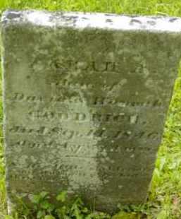 GOODRICH, SARAH A - Berkshire County, Massachusetts | SARAH A GOODRICH - Massachusetts Gravestone Photos