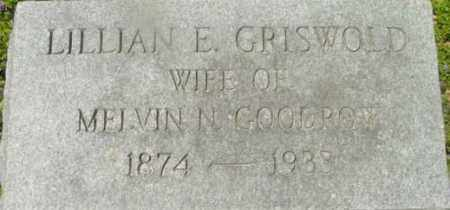 GRISWOLD, LILLIAN E - Berkshire County, Massachusetts | LILLIAN E GRISWOLD - Massachusetts Gravestone Photos