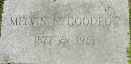 GOODROW, MELVIN N - Berkshire County, Massachusetts | MELVIN N GOODROW - Massachusetts Gravestone Photos