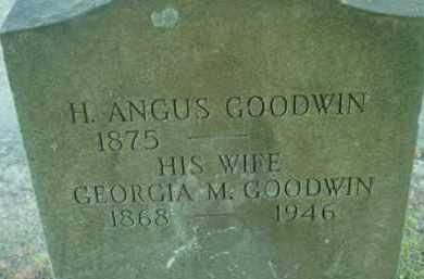 GOODWIN, GEORGIA M - Berkshire County, Massachusetts | GEORGIA M GOODWIN - Massachusetts Gravestone Photos