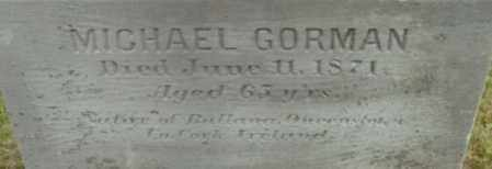 GORMAN, MICHAEL - Berkshire County, Massachusetts | MICHAEL GORMAN - Massachusetts Gravestone Photos