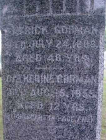 GORMAN, PATRICK - Berkshire County, Massachusetts | PATRICK GORMAN - Massachusetts Gravestone Photos