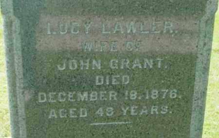 GRANT, LUCY - Berkshire County, Massachusetts | LUCY GRANT - Massachusetts Gravestone Photos