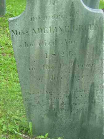 GREEN, ADELINE - Berkshire County, Massachusetts | ADELINE GREEN - Massachusetts Gravestone Photos