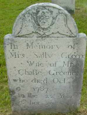 GREENE, SALLY - Berkshire County, Massachusetts | SALLY GREENE - Massachusetts Gravestone Photos