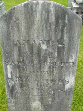 GREGORY, AMANDA - Berkshire County, Massachusetts | AMANDA GREGORY - Massachusetts Gravestone Photos