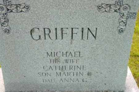 GRIFFIN, CATHERINE - Berkshire County, Massachusetts   CATHERINE GRIFFIN - Massachusetts Gravestone Photos