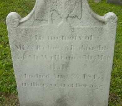 HALE, REBECCA R - Berkshire County, Massachusetts | REBECCA R HALE - Massachusetts Gravestone Photos