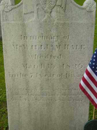 HALE, WILLIAM - Berkshire County, Massachusetts | WILLIAM HALE - Massachusetts Gravestone Photos