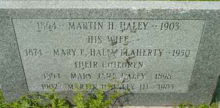 FLAHERTY HALEY, MARY F - Berkshire County, Massachusetts | MARY F FLAHERTY HALEY - Massachusetts Gravestone Photos