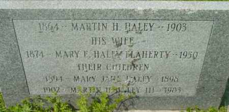 HALEY, MARY JANE - Berkshire County, Massachusetts | MARY JANE HALEY - Massachusetts Gravestone Photos