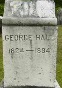 HALL, GEORGE - Berkshire County, Massachusetts | GEORGE HALL - Massachusetts Gravestone Photos