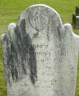 HALL, HANNAH - Berkshire County, Massachusetts | HANNAH HALL - Massachusetts Gravestone Photos