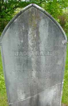 HALL, JABEZ - Berkshire County, Massachusetts | JABEZ HALL - Massachusetts Gravestone Photos